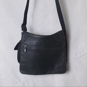 FOSSIL Large Leather Messenger Bag Cross Body